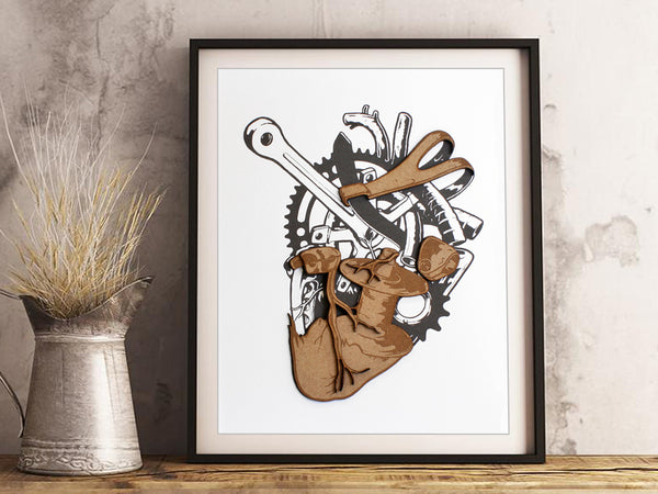 cycling gift home decor