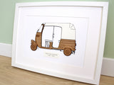 Tuk Tuk wall art, holiday decor