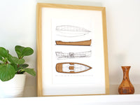 lake cabin decor, boat art