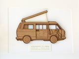 VW T3 camper art gifts