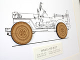 Willys MB Jeep decor