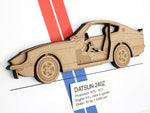 Datsun 240Z wall art gift
