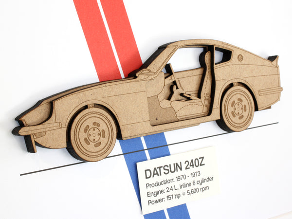 Datsun 240Z wall art