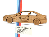 BMW M3 E46 Coupe art