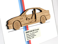 BMW M3 E46 Coupe gift