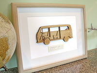 VW T2 bus wall art gifts
