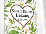 surname wedding sign