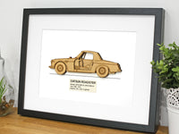 Datsun Roadster art gift