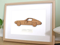 Corvette C2 wall art