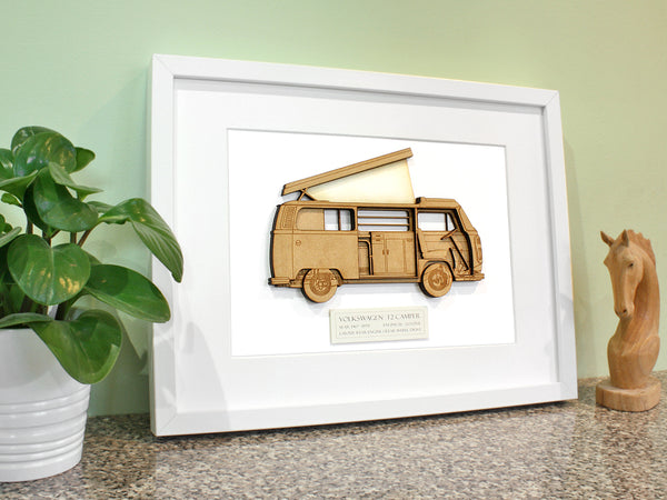 VW T2 Campervan art