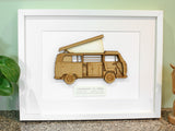 VW T2 Camper art