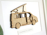 VW T6 California gifts wall art