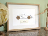 MG TC blueprint decor