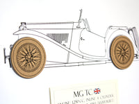 MG TC art gift
