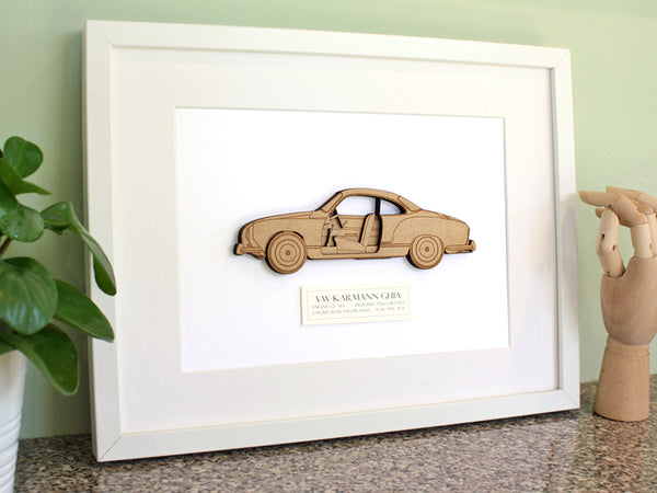 VW Karmann Ghia gifts art