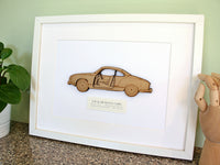VW Karmann Ghia decor