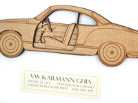 VW Karmann Ghia gift