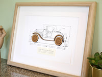 Ford Model A Roadster art gifts