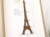 Eiffel Tower art, French home decor