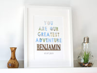 You are our greatest adventure nursery decor
