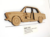 BMW 2002 wall art