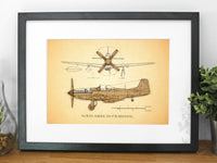 P51 Mustang aviation gifts