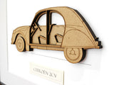 Citroen 2CV decor