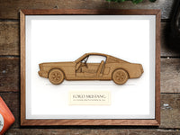 Ford Mustang Fastback gift, Mustang Fastback Art
