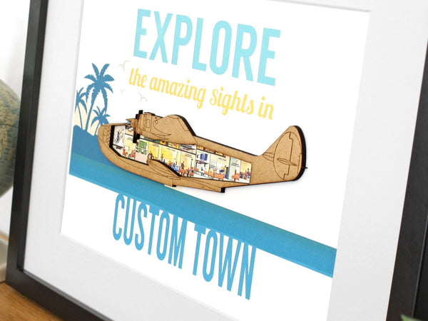 custom travel art