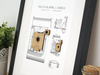 camera patent home decor