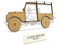 Land Rover Series 1 home decor