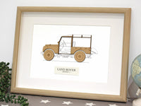 Land Rover gift art