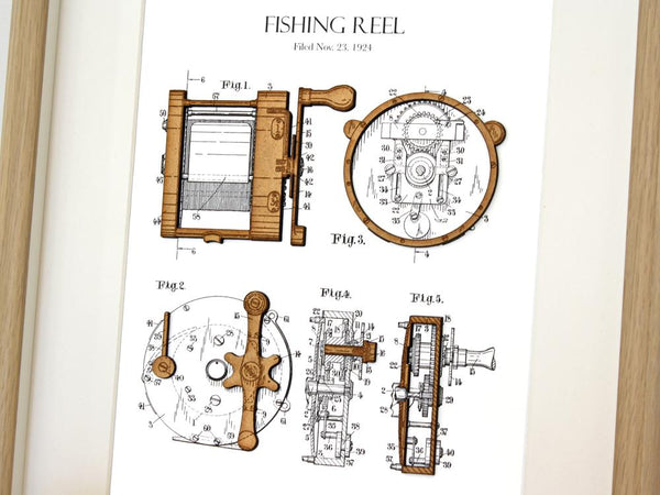 fishing gift, fishing decor