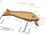 Fishing patent art