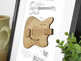 electric guitar home decor