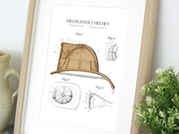Firefighter helmet patent art