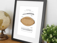 Football home decor