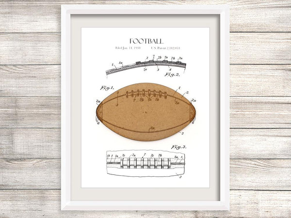 Football Gift, Football Patent Art
