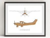 Cessna 182 Skylane gifts, aviation decor