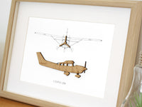 Cessna Stationair T206 aviation decor