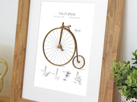 cycling home decor, patent art