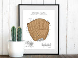 baseball gift, baseball decor