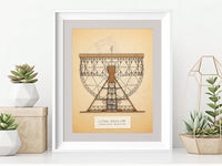 Lovell Telescope art, Jodrell Bank, science art