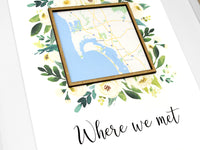 Where we met map