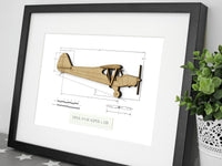 Piper Super Cub gifts, aviation art