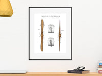 aircraft propeller art, aviation gifts