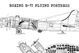 B17 blueprint home decor
