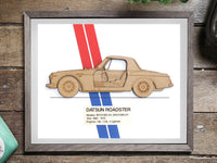 Datsun Roadster Gifts, Datsun Art