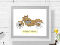 Honda Shadow 1100 ACE motocycle art gifts