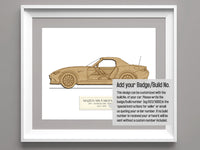 Mazda MX-5 Miata ND 30th Anniversary Edition Art, 8x10 or A4 sizes